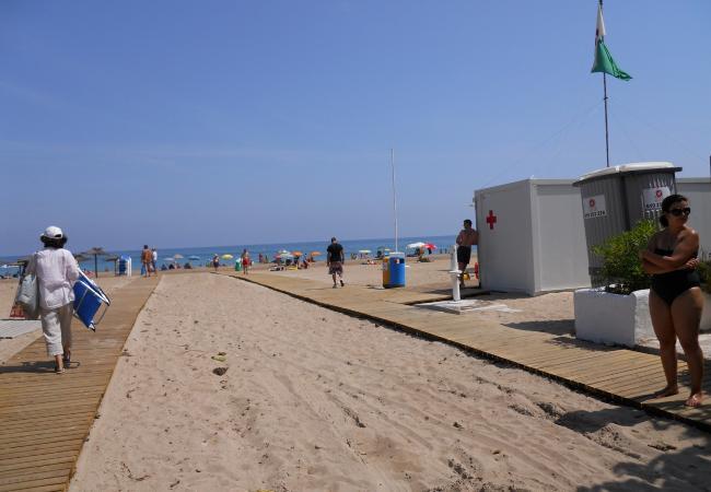 Apartamento en Denia - Playa Grande-2-dormitorios