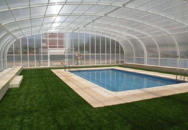 piscina climatizada invierno fincas arena alquiler vacacional