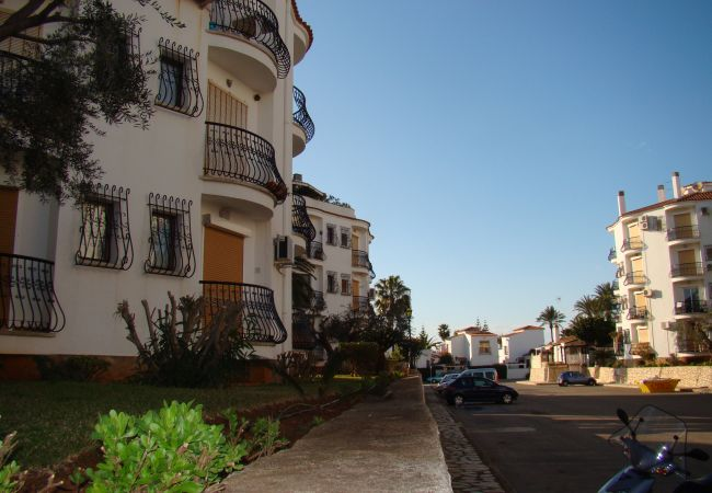 Estudio en Denia - Comodo estudio a 300 metros de la playa de Las Marinas