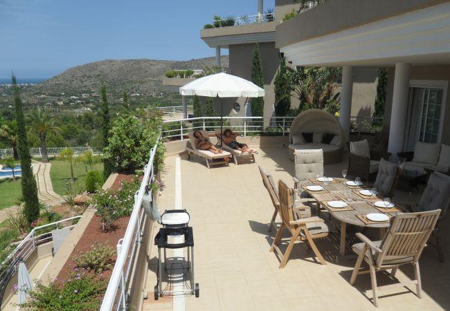 Apartamento en Pedreguer - Apartamento con magnifica terraza y espectaculares vistas